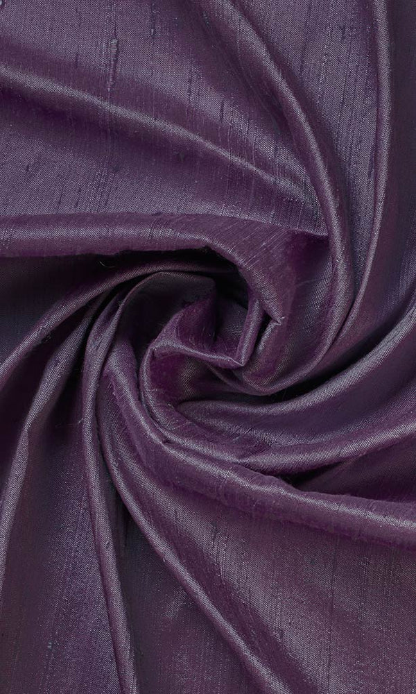 Purple Dupioni Silk Curtains I Handstitched and Shipped for Free