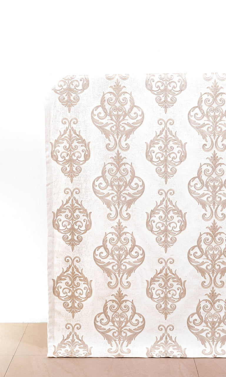 Golden/Ivory custom Curtains