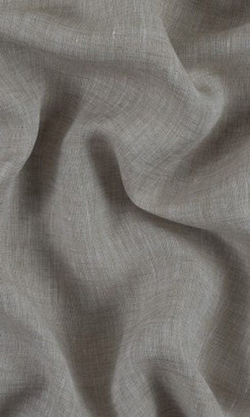 custom grey sheer linen curtains image