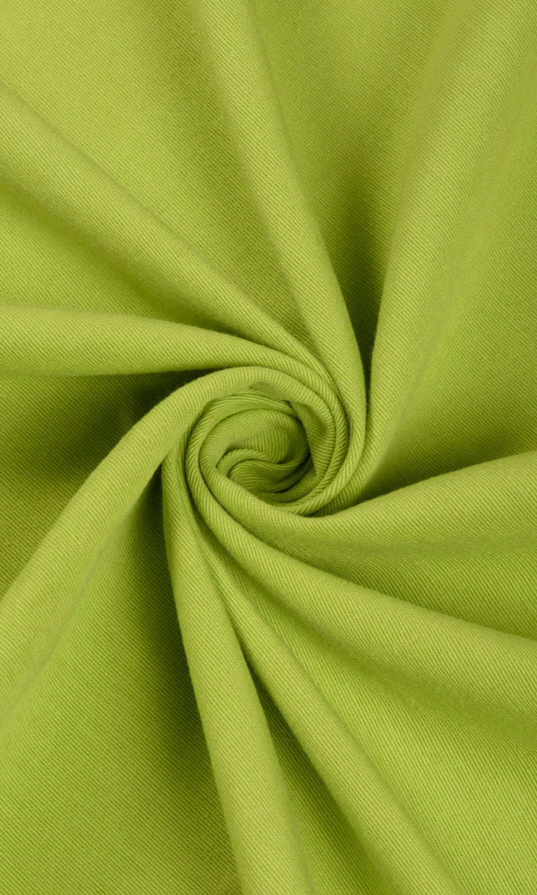 green custom cotton curtains image. Narrow Curtains.