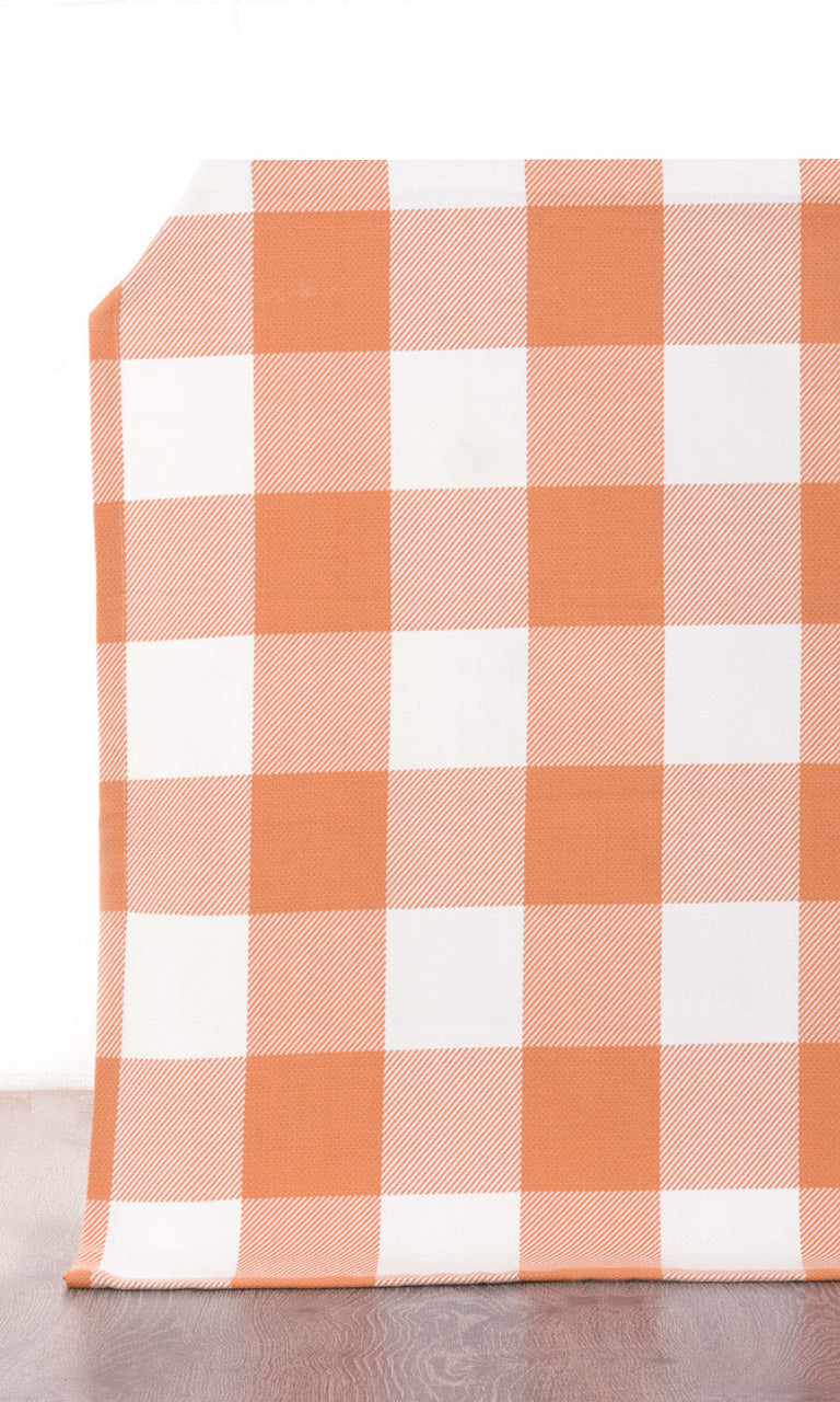 Buffalo Check Cotton Curtains