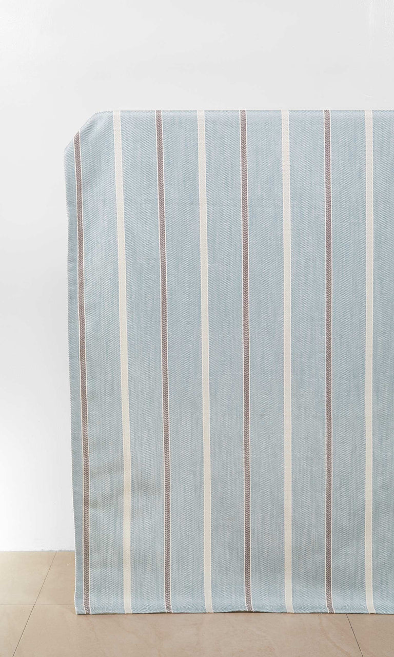 Blue/Gray/White custom Curtains. Short Length Curtains