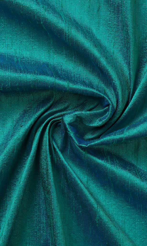 Tiffany Blue Dupioni Silk Curtains I Handstitched and Shipped for Free
