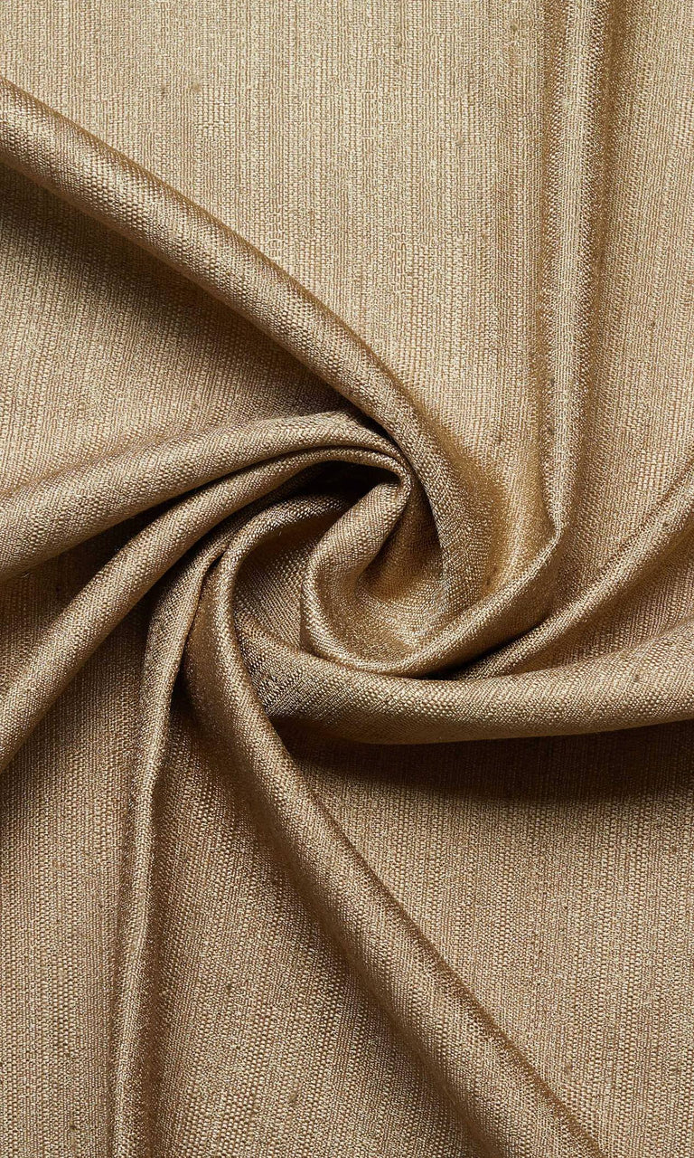 golden brown custom silk curtains image