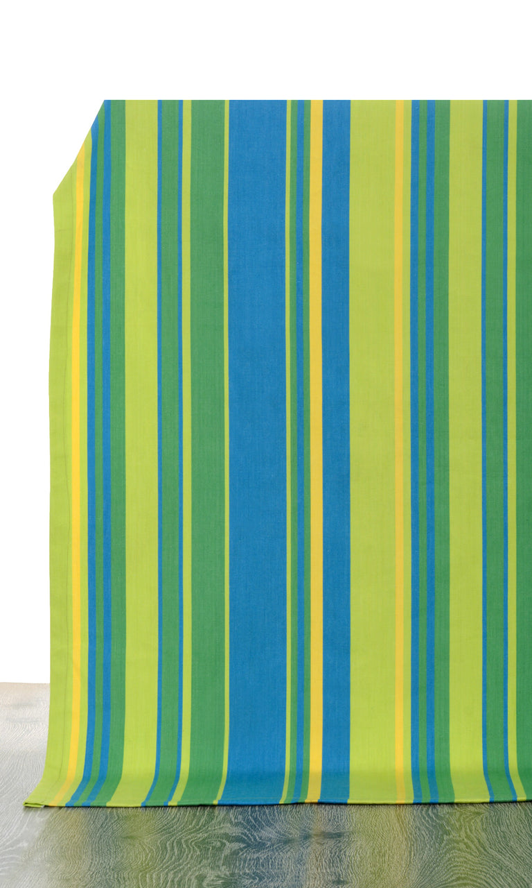 blue or green custom cotton curtains image