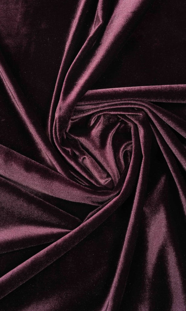 wine purple burgundy velvet drapes