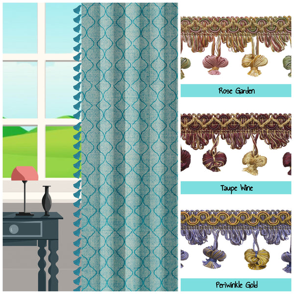 buy tassel trim for curtains