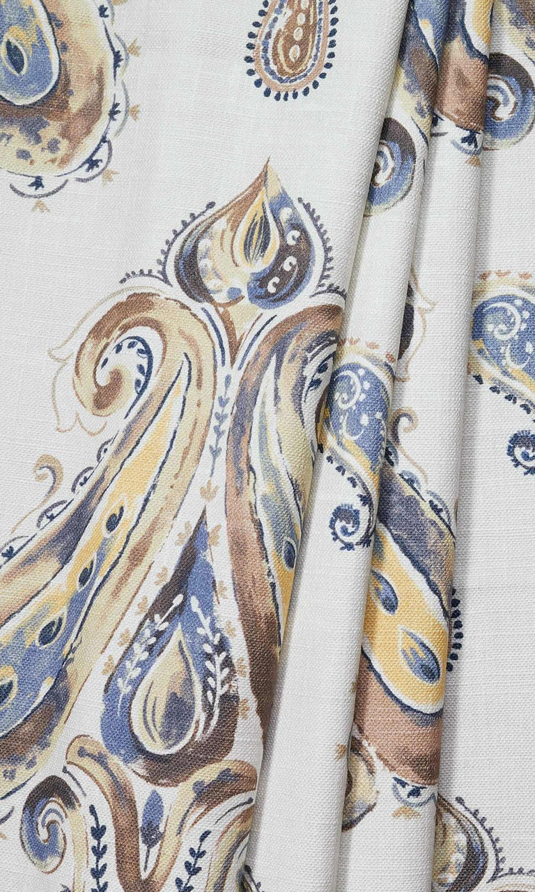 Paisley Print custom Curtains I Extra Long