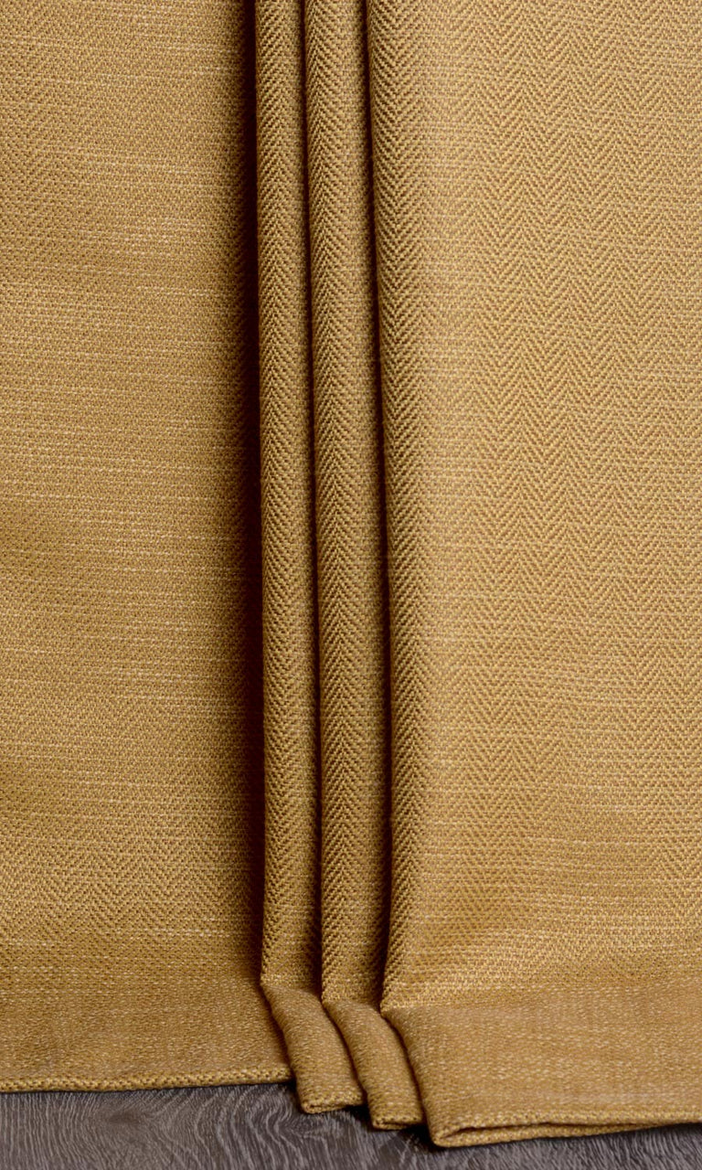 Golden Yellow Custom Drapery & Curtains