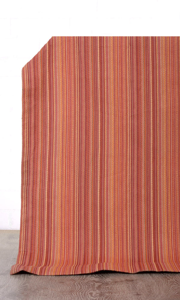 Extra Wide I red custom cotton curtains image