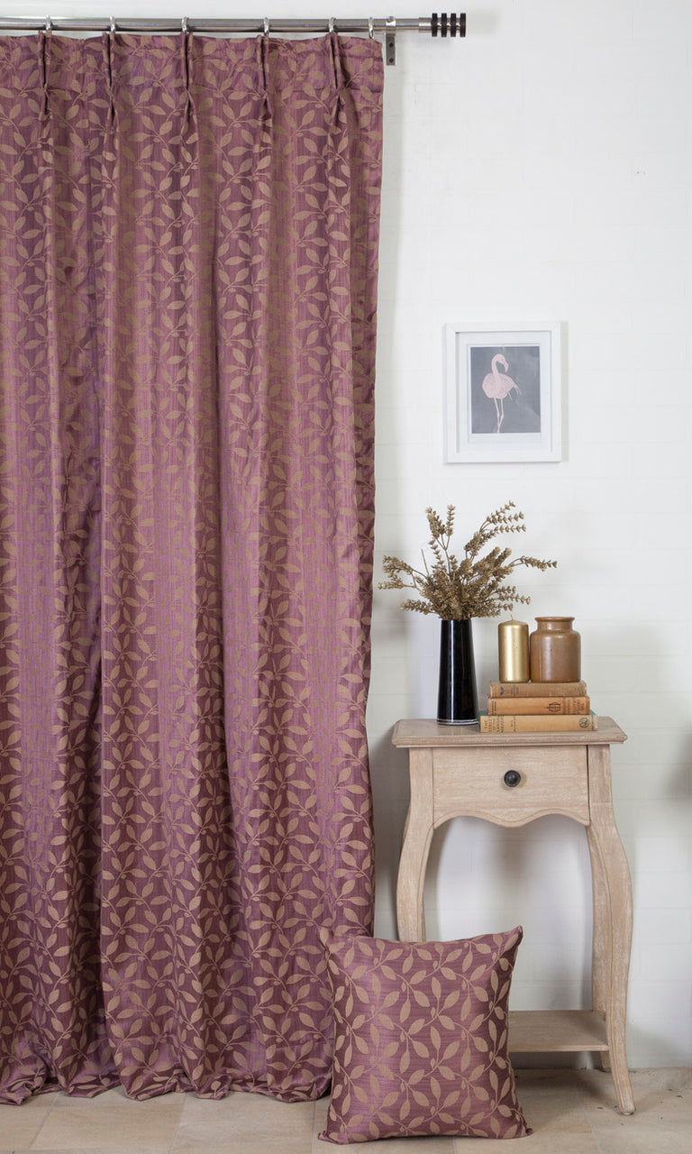 purple custom curtains image I Extra Long