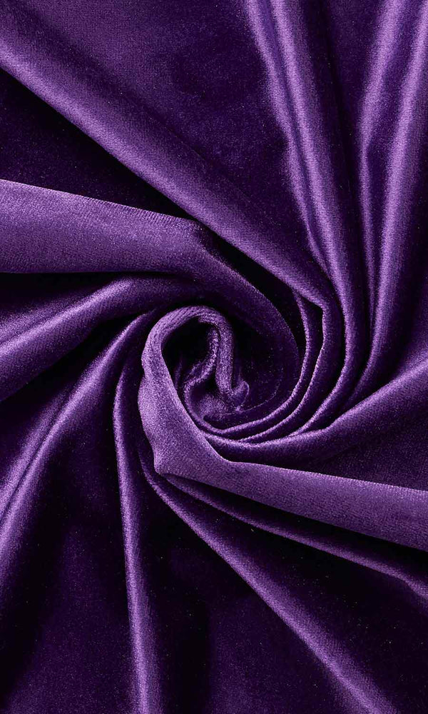 Purple Velvet custom Curtains