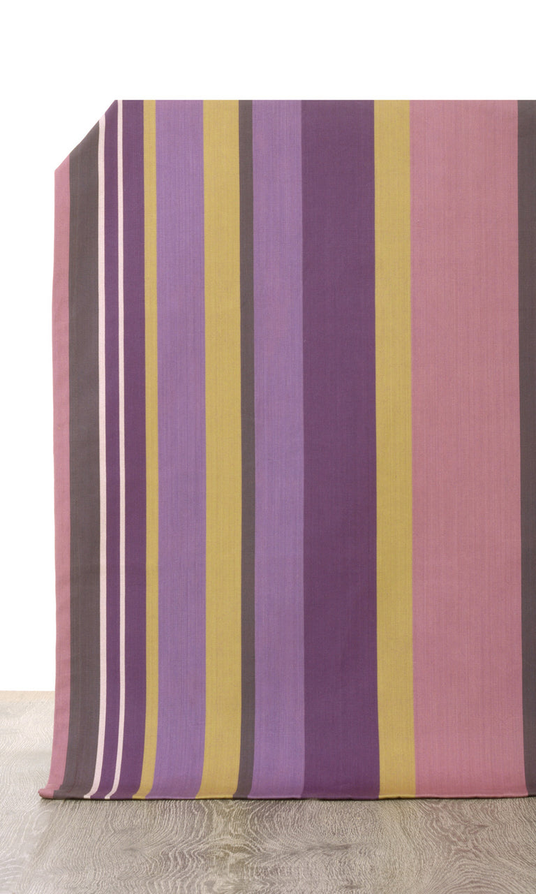 pink or purple custom cotton curtains image