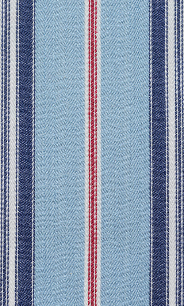 red or blue custom cotton curtains image I Extra Long