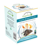NNO Organic Bergamot Citrus Tea Earl Grey Tea Pyramid Sachets USDA Certified Organic Premium Black Leaf Tea With Bergamot Oil Fairtrade Certified Tea Fair Trade Tea Naturals n Organics Petit Tea