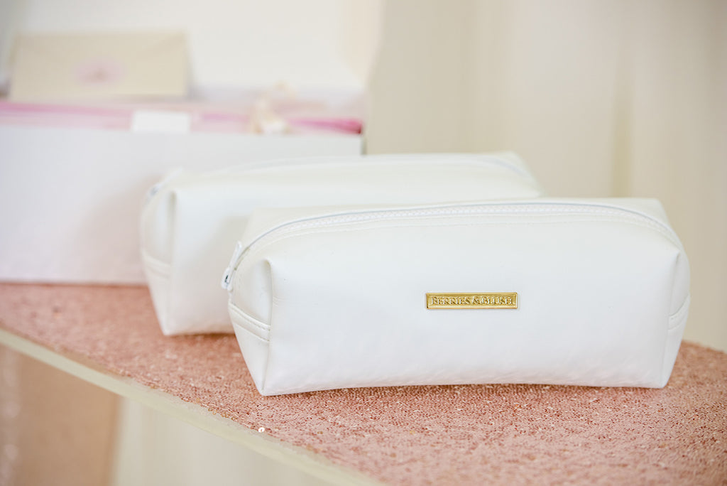 Bridal makeup bag