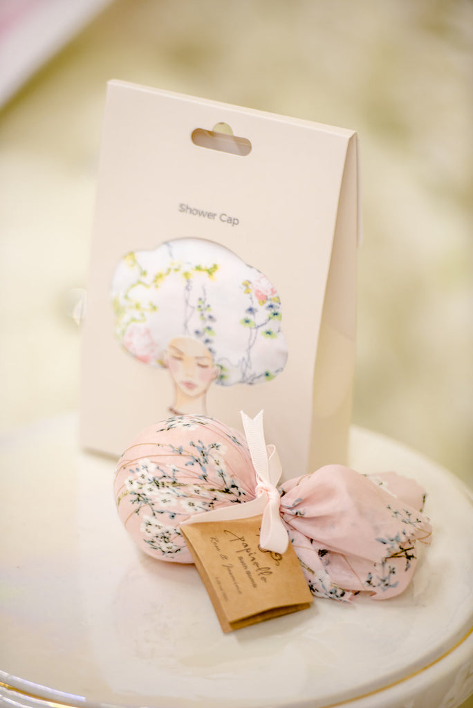 Berries and Blush - Pre Wedding Pamper Gift Pack Shower Cap