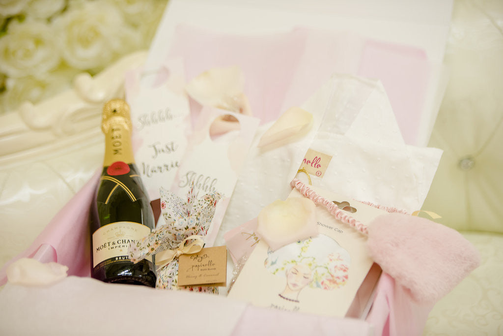 Berries and Blush - Pre Wedding Pamper Gift Pack for Brides