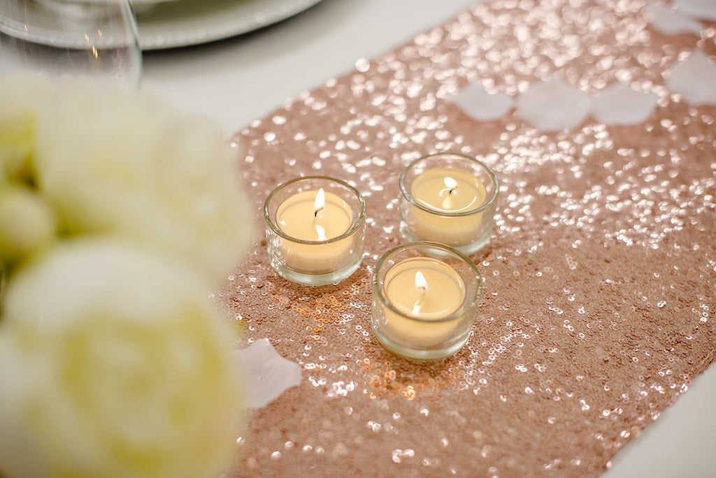 Rose Gold Table Runner