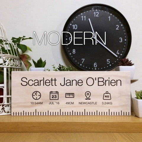Birth Ruler - Modern