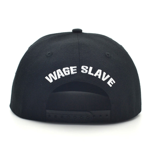 All Shall Perish Wage Slaves SnapBack - BLACK/WHITE