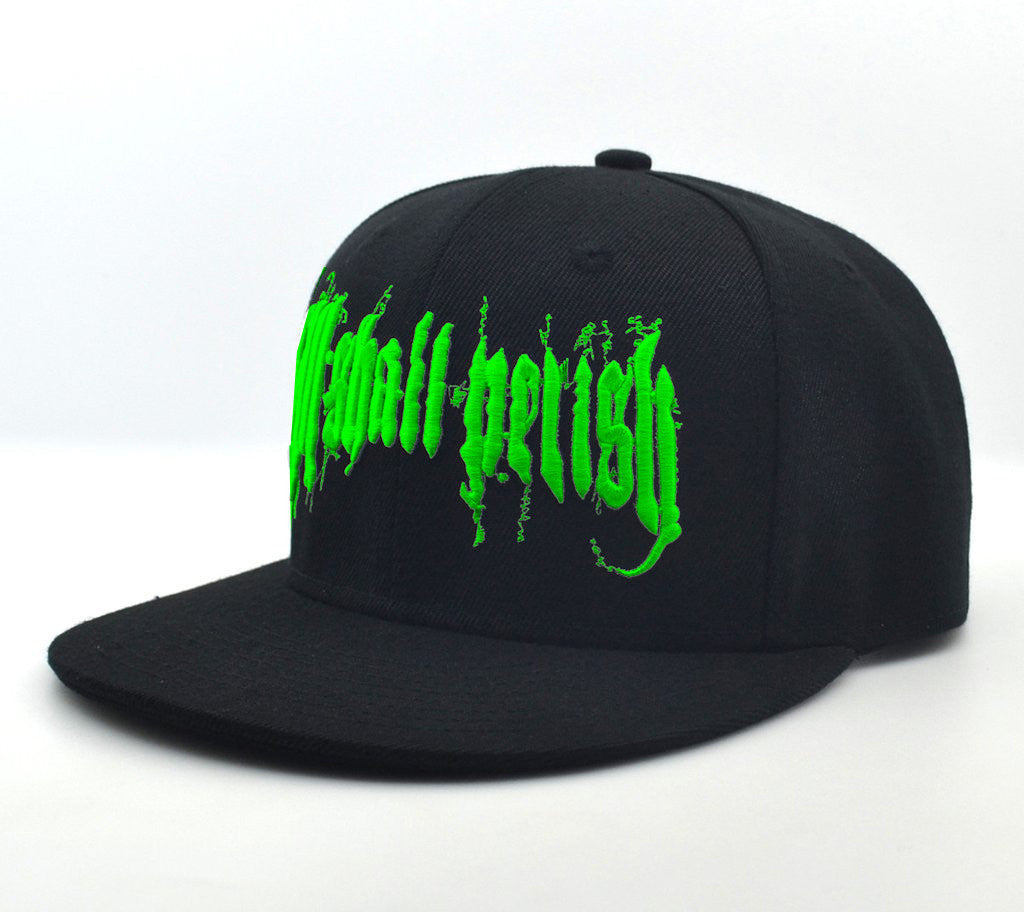 All Shall Perish Wage Slaves SnapBack - BLACK/GREEN