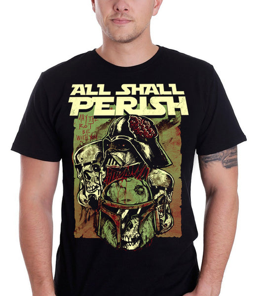 All Shall Perish - May The Rot Be With You T-Shirt