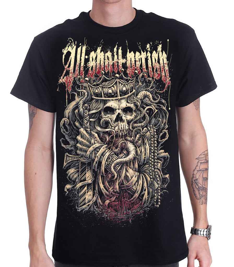 All Shall Perish - King T-Shirt