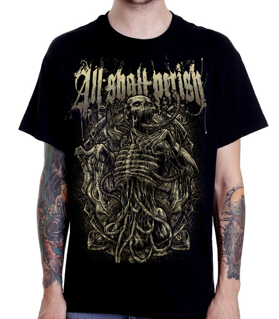 All Shall Perish - Skeletal T-Shirt