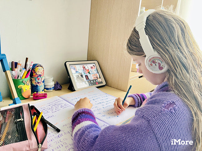 Headphones for home learning