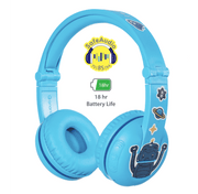 BuddyPhones Blue Play Headphone for boys