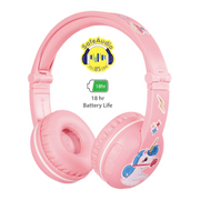 BuddyPhones Pink Play Headphone for girls