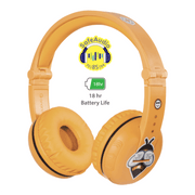 BuddyPhones Yellow Play Headphone for girls
