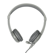 BuddyPhones Galaxy Grey Headphones