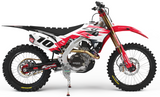 Bike Binderz L Track Dirt Bike Kit in raw aluminum