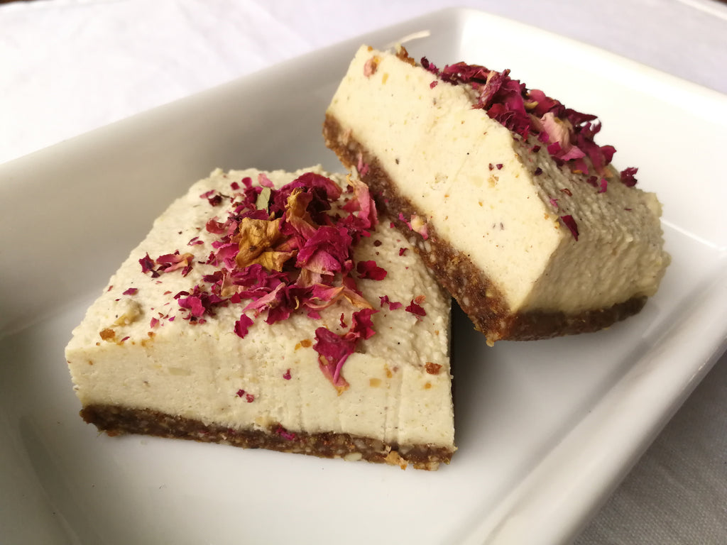 Paleo Turkish Delight Cheesecake Recipe