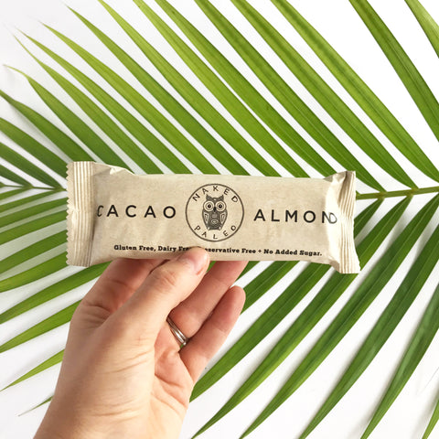 Naked Paleo | Paleo Almond Bar