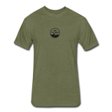All Terrain Circle Badge T-Shirt - heather military green