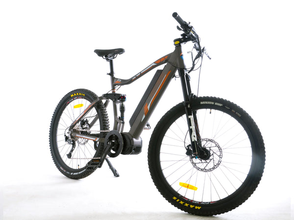 dual sport bafang ultra max full suspension electric bike. Black Bedroom Furniture Sets. Home Design Ideas