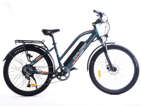The Explorer | Electric Commuter & Adventure Bike