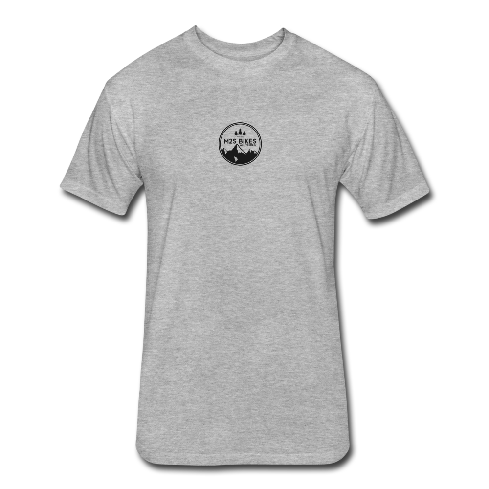All Terrain Circle Badge T-Shirt - heather gray