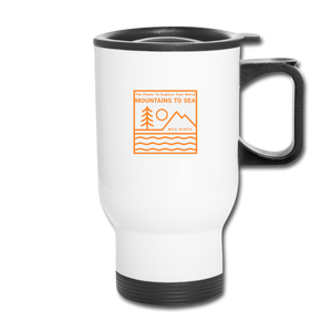 Mountains to Sea Mug - white