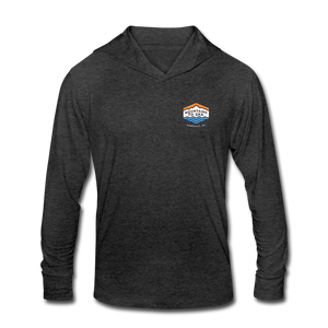 Mountains To Sea Hoody - heather black