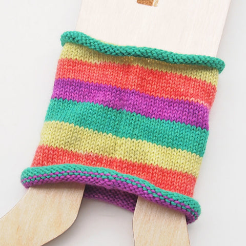 Self-Striping Sock - Big Top Strikes Again