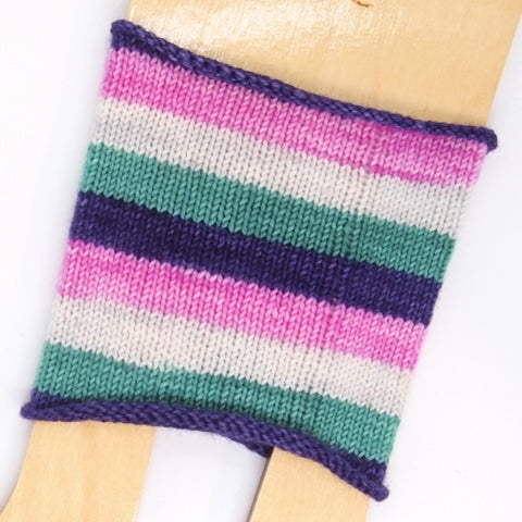 Self-Striping Sock - A Cat Named Hibiscus