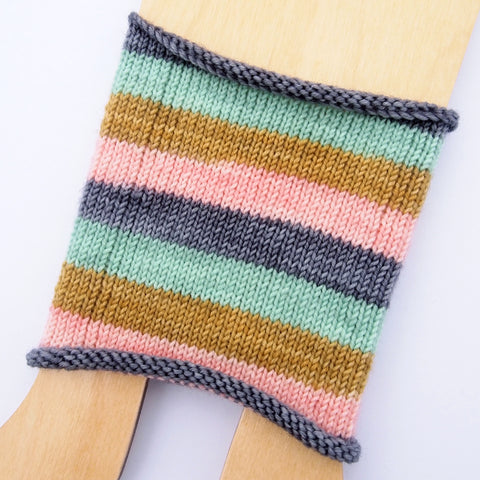 Self-Striping Sock - Foxy Mantra