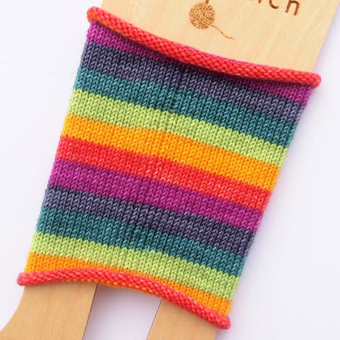 Self-Striping Sock - Harmony Rainbow