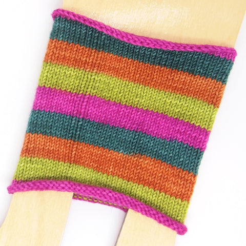 Self-Striping Sock - Juicy Cute