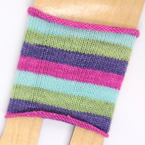 Self-Striping Sock - Just Like a Circus