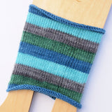 Self-Striping Sock - Quiet Branching Out